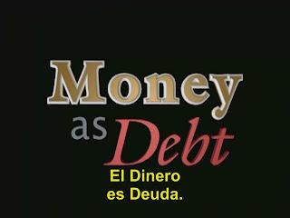 Dinero es deuda